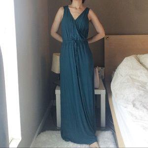 Splendid Sleeveless Maxi Dress.-Y4.